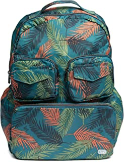 Lug Women's Puddle Jumper Packable, Tropical Ocean Backpack, One Size