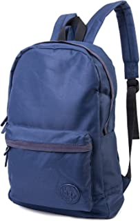 Weekend Warrior Backpack for Travel, Hiking, and Back to School in Navy Blue