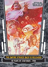 2017 Topps Star Wars 40th Anniversary Trading Card #64 The Empire Strikes Back is Released