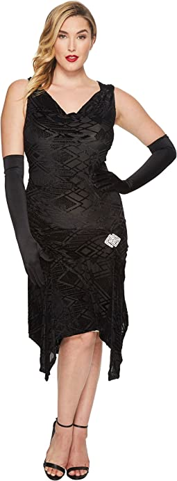Unique Vintage - Plus Size Velma Flapper Dress