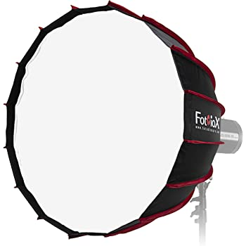 Fotodiox EZ-Pro Deep Parabolic Softbox 28in Quick Collapsible Softbox with Elinchrom Speedring for Elinchrom and Compatible 70cm