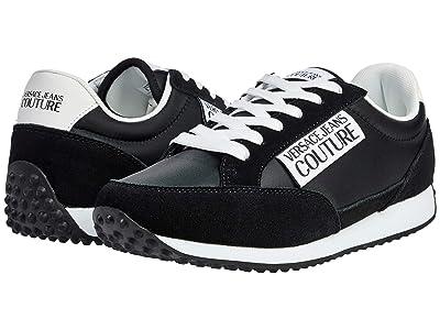 Versace Jeans Couture Logo Tag Trainer (Black) Men