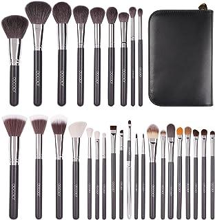 Docolor Makeup Brush Set 29Pcs Professional Brush Set Goat Hair Foundation Eyeshadow Kit with Case