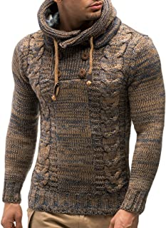 LN20227 Men's Knitted Pullover