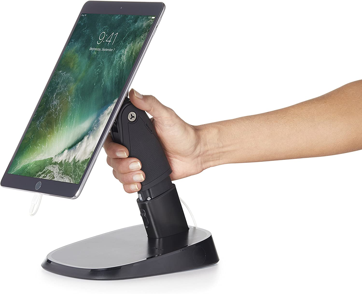 Durable New Shipping Free Portable Super popular specialty store Tablet Stand Holder Business InVue for Use.