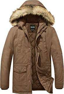 Men's Winter Thicken Cotton Jacket Warm Outwear Coat