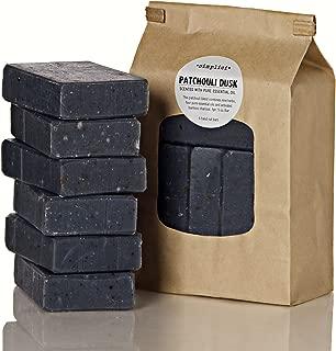SIMPLICI Patchouli Charcoal Soap Value Bag (6 Bars)