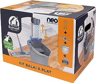 ELEPHANT 496507.0 Neo— Kit de Nettoyage des sols, Plastique, Bleu/Blanc/Gris, 42,5 x 29 x 29,5 cm
