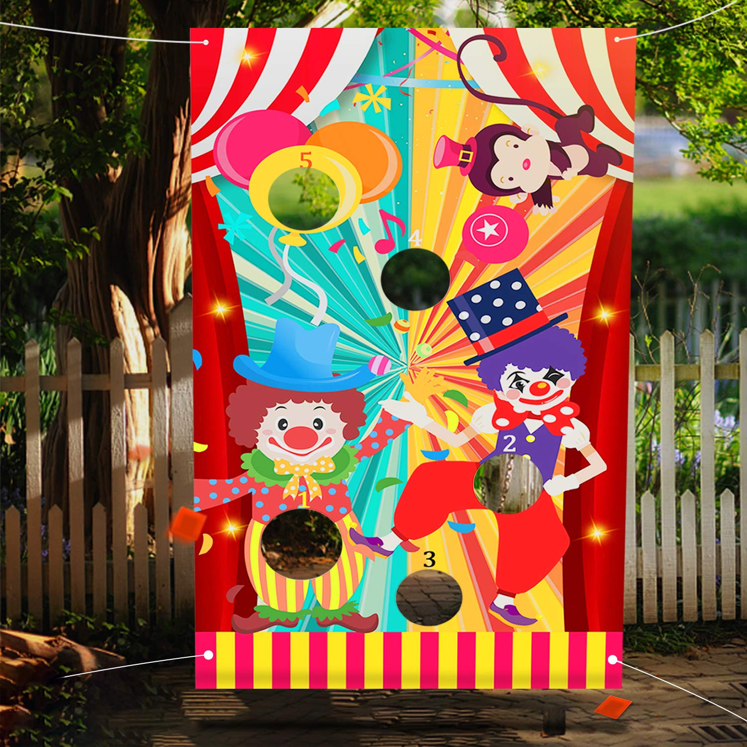 JOYIN Halloween Carnival Can Bean Bag Toss Games for Kids /& Adults Trick or Treat Decoration Home Decor Party Favors Supplies Homeschooling Backyard Game