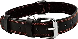 rolled leather headcollar