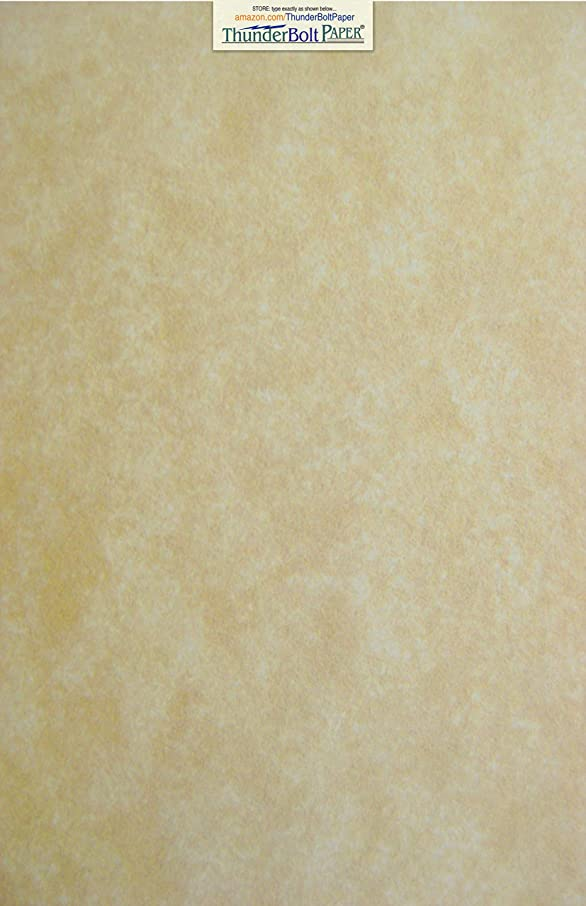 50 Old Age Parchment 65lb Cover Paper Sheets 12 X 18 Inches Cardstock Weight Colored Sheets (12X18 Inches) Large Poster Size - Printable Old Parchment Semblance Through The Processing of The Pulp