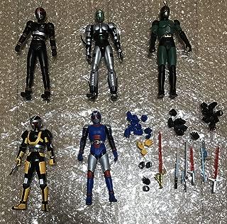S.Hフィギュアーツ 仮面ライダーBLACK RX 5種セット ブラック バイオ ロボ シャドームーン