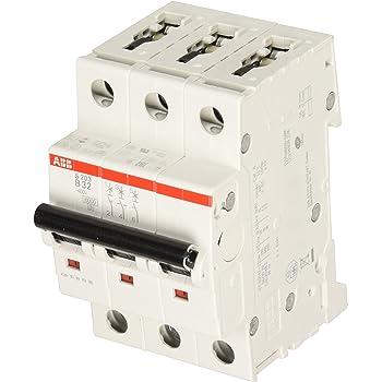 ABB S203-B32 - Instalación de fusible para caja de fusibles (32A): Amazon.es: Industria, empresas y ciencia