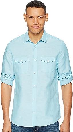 Calvin Klein - Roll-Tab Woven Shirt