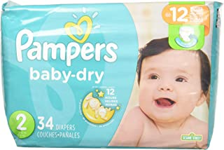 pampers baby dry size 2 160 count