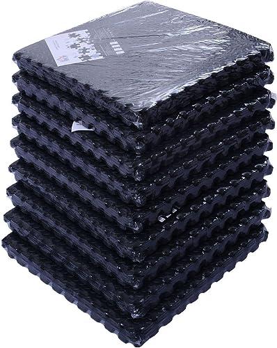 COLIBROX New 54 Tiles 216 Sq Ft Interlocking EVA Foam Floor Mat Flooring Gym Playground