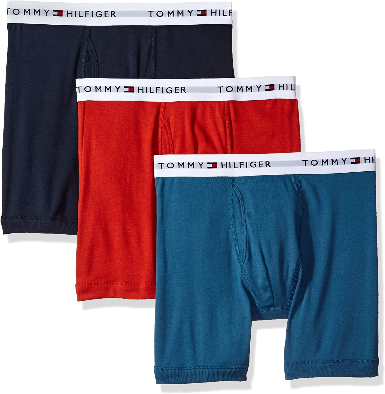 Tommy Hilfiger Men's Underwear Multi-Pack Cotton Classics Boxer Briefs