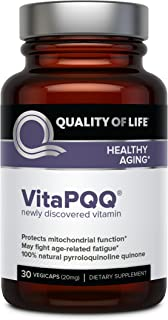 Quality of Life Labs Supplement, VitaPQQ, 30 Count