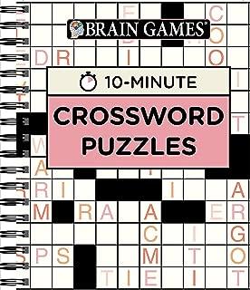Brain Games - 10 Minute: Crossword Puzzles (Pink)