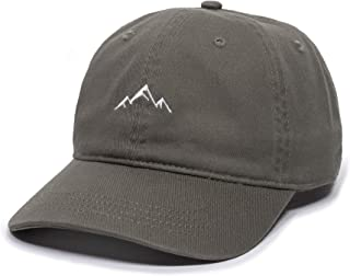 Outdoor Cap unisex-adult Mountain Dad Hat Mountain Embroidered Dad Hat – Adjustable Soft Cotton Polo Style Unstructured Ba...