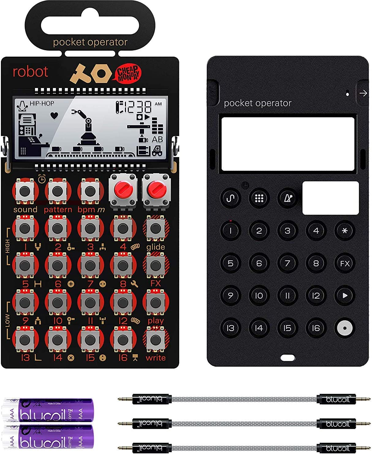 Teenage Engineering PO-28 Max 68% Sale special price OFF Pocket Operator Robot Synthesizer Lead