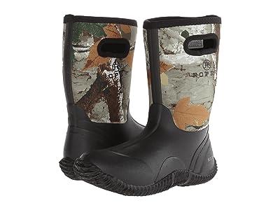 Roper Kids Neoprene Camo Barn Boot (Big Kid) (Black) Kids Shoes