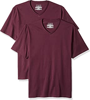 Amazon Essentials Men's 2-Pack Regular-Fit V-Neck T-Shirt