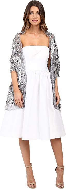 Betsey Johnson - Paillette Sequin Tulle Wrap