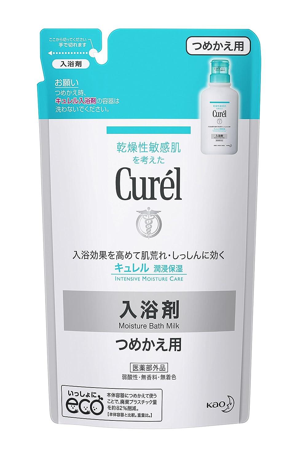 展開するグラム人質キュレル 入浴剤 つめかえ用 360ml