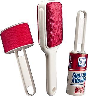 SET de cepillos para la limpieza de la ropa, sofás, alfombras: Cepillo adhesivo con 36 hojas precortadas, longitud 5 metro...