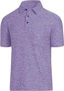 COVISS Men's Dry Fit Golf Polo Shirt