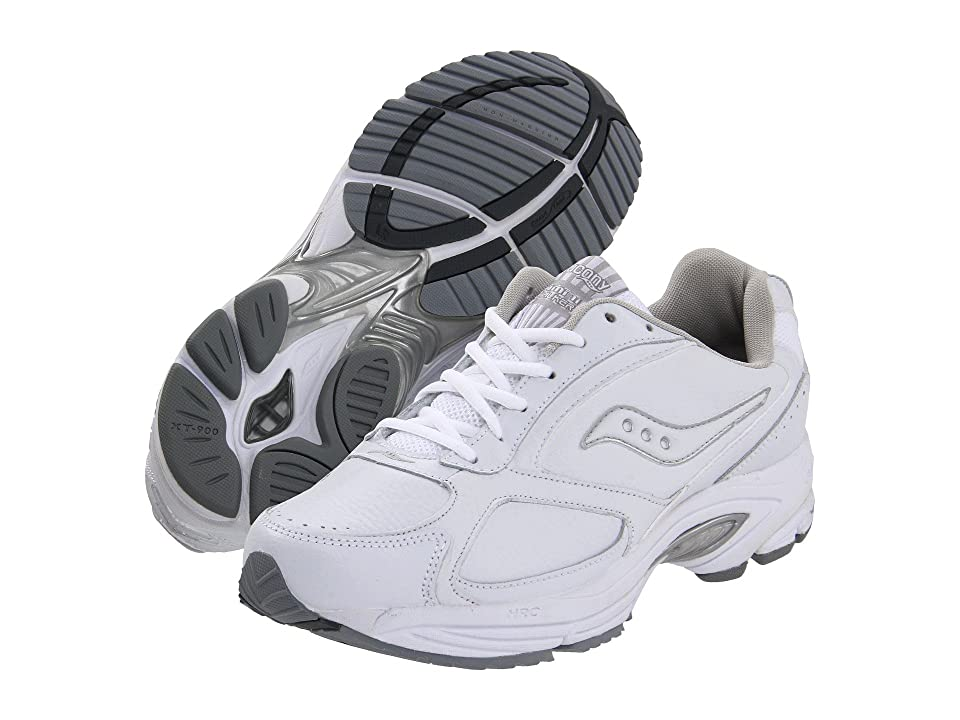 Saucony Grid(r) Omni Walker (White/Silver) Men