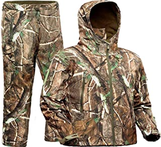 ADAFAZ Hunting Jackets & Pants Water Resistant Hunting...