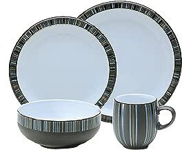 Denby 12-Piece Dinnerware Set, Stripes
