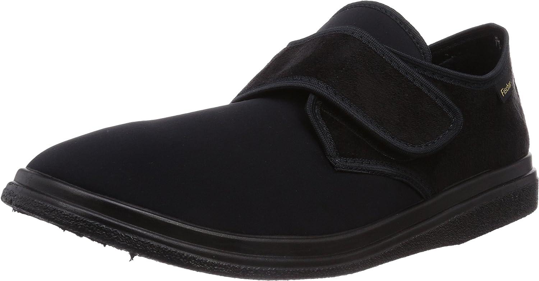 Fischer Unisex Adults' Bequem Schuh black Unlined Low House shoes