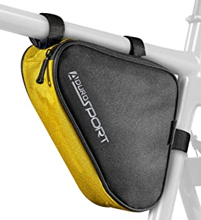 Aduro Sport Bicycle Bike Storage Bag Triangle Saddle Frame Pouch for Cycling