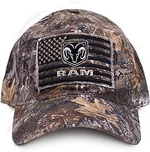 ram camo hat