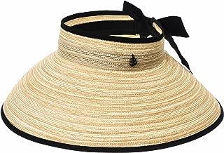 WITHMOONS Womens Summer Sun Visor Foldable Beach Hat SLV1039