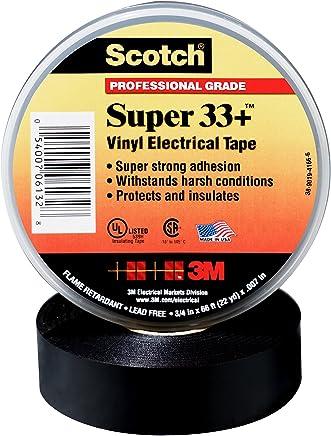 Scotch(R) Super 33(TM) Vinyl Electrical Tape, 3/4