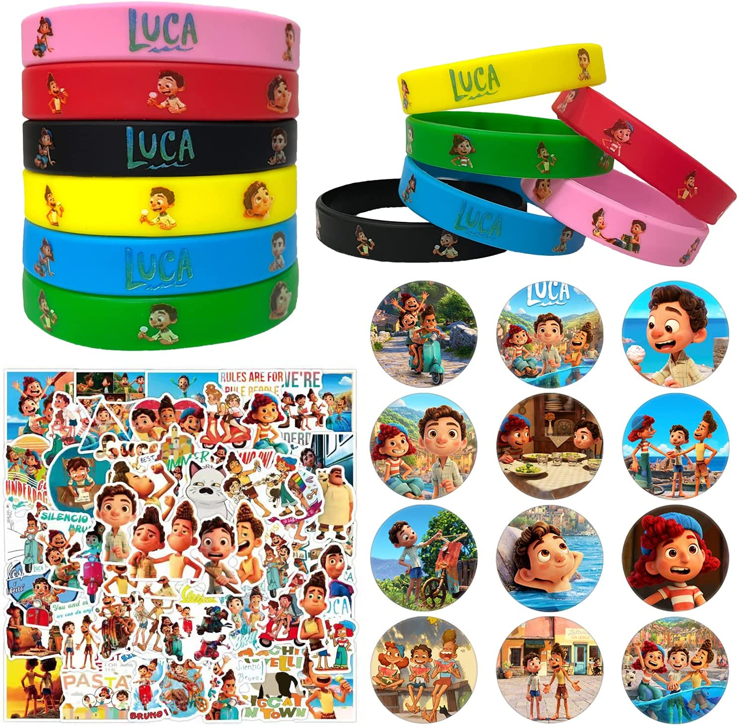 DISAPAK Luca Birthday Party Favors Free Shipping Cheap Bargain Over item handling ☆ Gift Par for Kids Pack 74