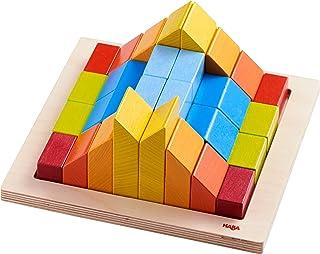 HABA 304854 – kreatywna gra 3D, budowanie i gry w kolorowe