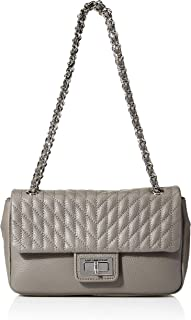 Karl Lagerfeld Paris womens Agyness Pebble Shoulder Bag