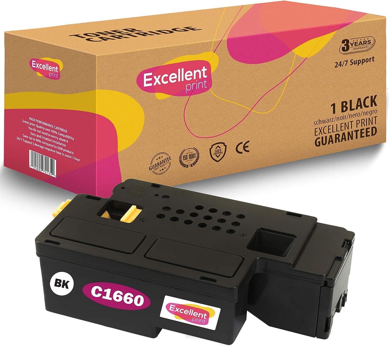 Excellent Print C1660 Kompatibel Tonerkartusche Für Dell C1660 C1660w C1660cn C1660cnw Bürobedarf Schreibwaren