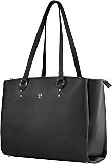 "Wenger Womans 14"" Laptop Tote, Black 606495"