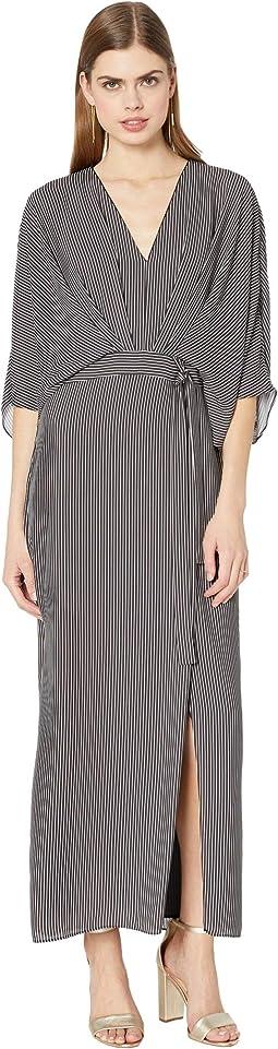 Black/Linen White Tera Stripe