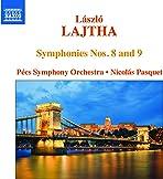 László Lajtha: Symphonies Nos. 8 and 9 [Pécs Symphony Orchestra; Nicolás Pasquet] [Naxos: 8573648]