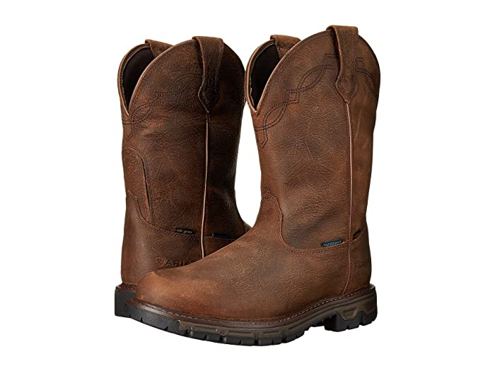Ariat  Conquest WP Insulated (Rye Brown) Mens Work Boots