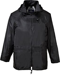 Portwest Mens Classic Rain Jacket (S440)