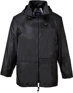 Portwest Workwear Mens Portwest Rain Jacket Black Large