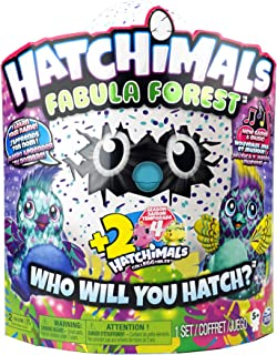 Hatchimals Fabula Forest Set: 1 Large and 2 Colleggtibles